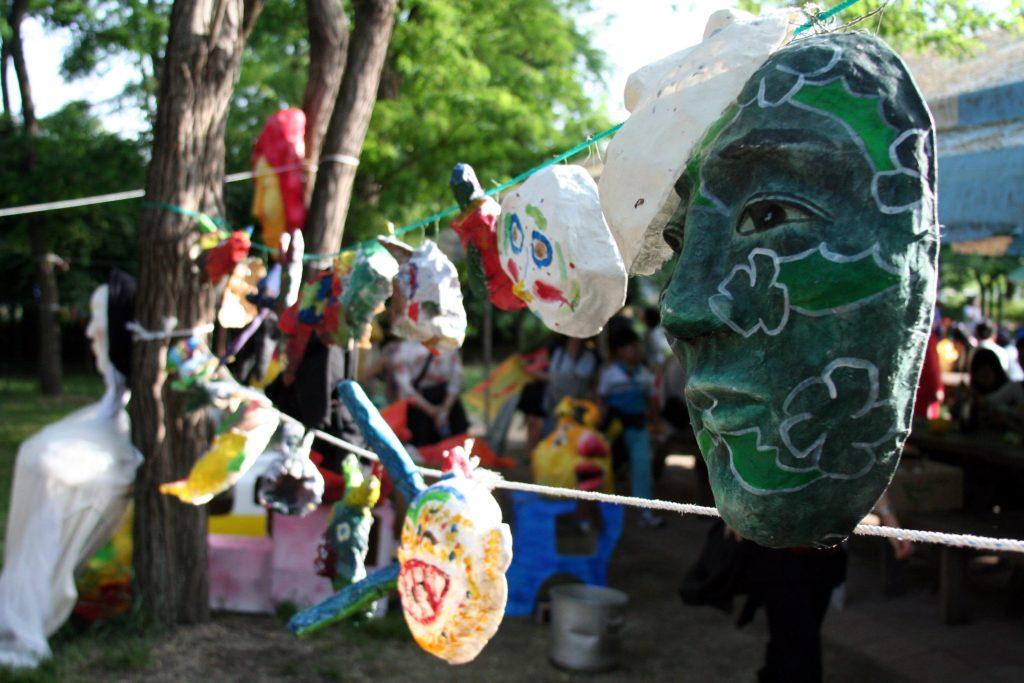 festivals d'automne en corée à andong festival des masques traditionnels coréens