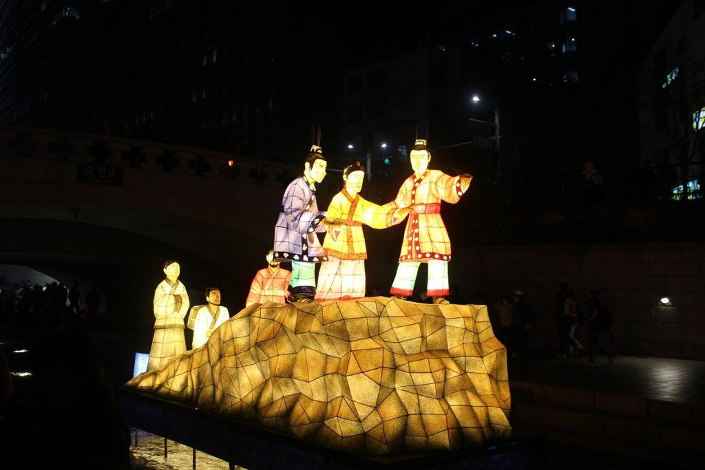 festival lanternes séoul corée du sud