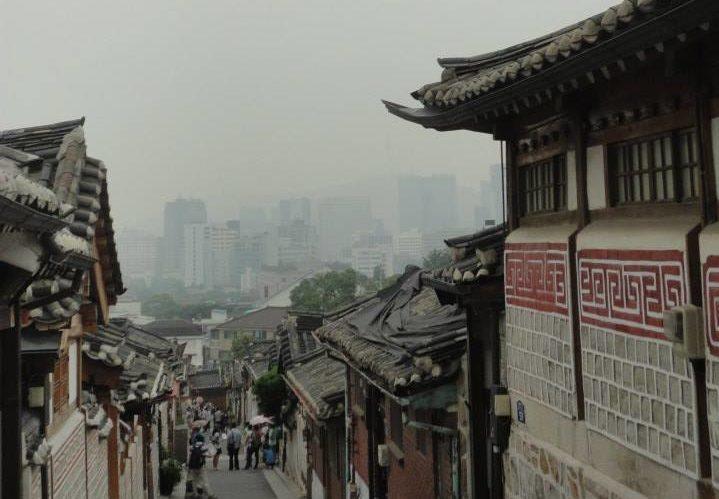 quartier bukchon visite de Séoul Corée du sud village traditionnel 123 South Korea