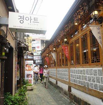 quartier Itaewon visite traditionnelle capitale de Corée du sud voyage à Séoul 123 South Korea
