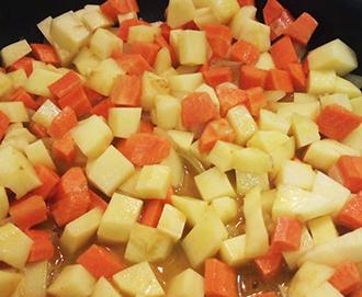 cuisson pomme de terre carotte