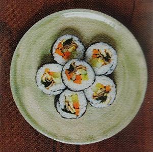 recette easy du kimbap encas pique-nique coréen nourriture asiatique facile riz algue piment