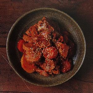 porc braisé épicé plat coréen typique dwaejijjim