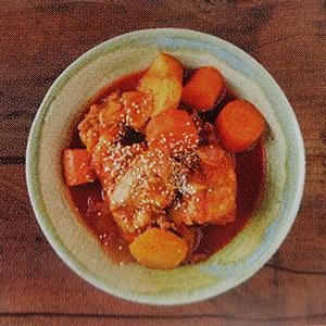 pot au feu poulet sauce épicée pimentée arômes relevés plat chaud réconfortant