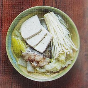 soupe claire de poisson gastronomie coréenne recette facile végétarienne pour débutant