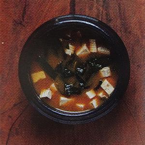 soupe pâte de soja fermentée algues soupe miso