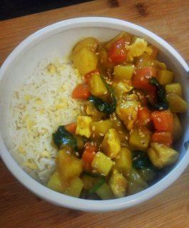 recette cuisine coréenne traditionnelle curry jaune